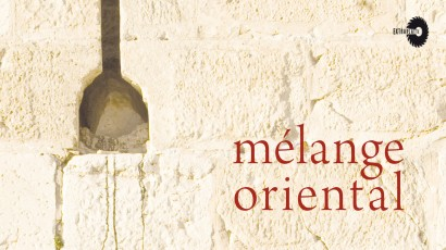 Mélange Oriental – CD